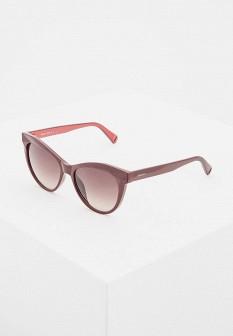 Женские бордовые солнцезащитные очки
