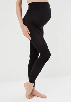 Черные осенние колготки для беременных