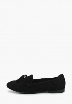 Женские черные туфли лоферы