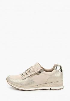 Женские бежевые осенние кроссовки