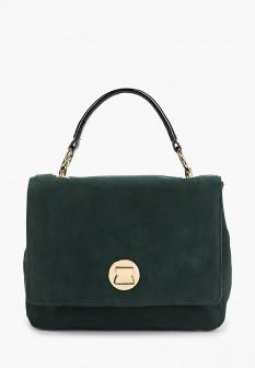 Женская зеленая осенняя сумка
