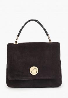 Женская коричневая осенняя сумка