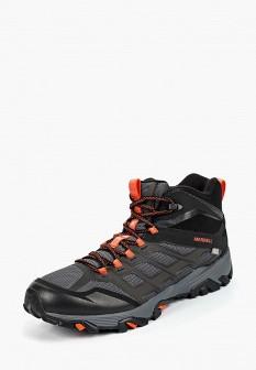Мужские черные осенние трекинговые ботинки