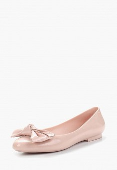 Женские розовые балетки Melissa