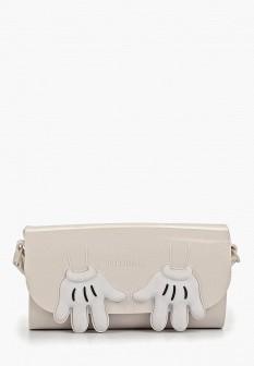 Женская белая сумка Melissa