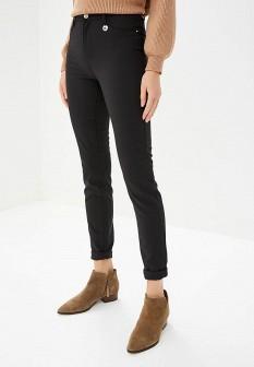 Женские черные итальянские осенние брюки