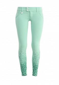 Женские бирюзовые брюки MET