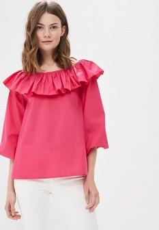 Розовая итальянская блузка
