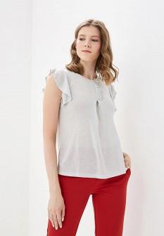 Серебряная блузка Motivi