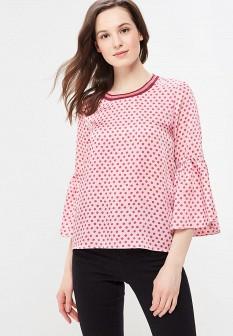 Розовая итальянская блузка Motivi