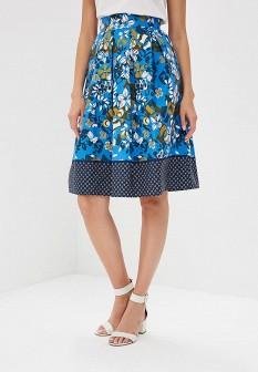 Синяя юбка Motivi
