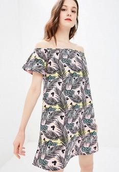 Розовое платье Modis