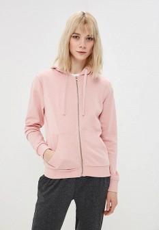 Женская розовая толстовка