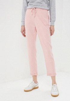 Женские розовые брюки спорт