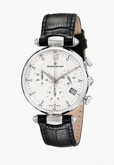Женские черные серебряные часы