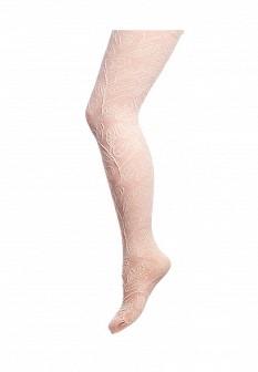 Розовые итальянские осенние колготки
