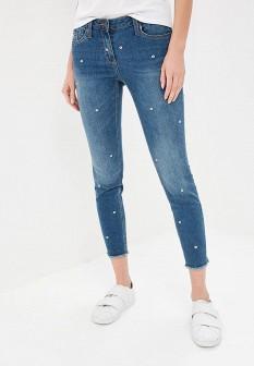 Женские синие джинсы NAF NAF
