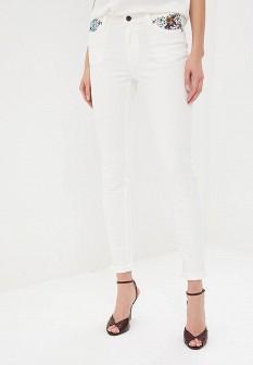 Женские белые джинсы NAF NAF