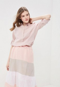 Женская розовая рубашка NAPAPIJRI