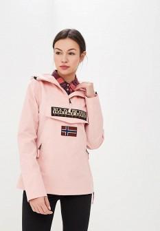 Женская розовая демисезонная ветровка
