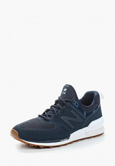Мужские синие кроссовки New balance