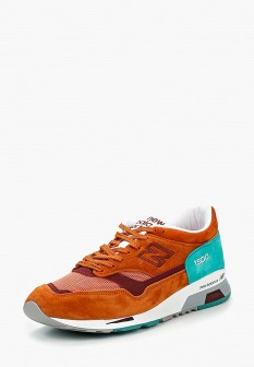 Мужские оранжевые осенние кроссовки