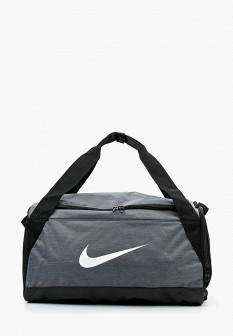 Мужская серая спортивная сумка