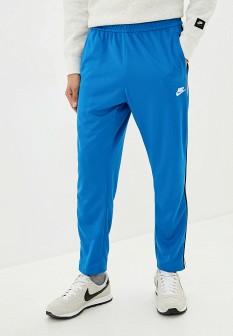 Мужские голубые осенние брюки спорт