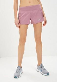 Женские фиолетовые спортивные шорты