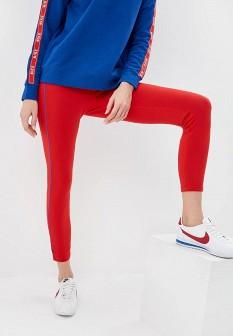 Красные леггинсы Nike