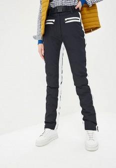 Женские черные осенние утепленные брюки