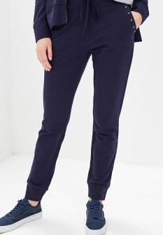 Женские синие осенние спортивные брюки