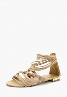 Женские бежевые сандалии Piazza Italia