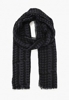 Мужской серый осенний шарф Piazza Italia