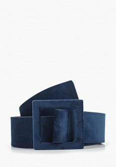 Женский синий ремень Pieces