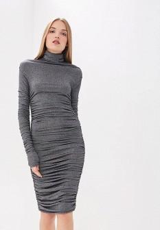 Итальянское серебряное платье