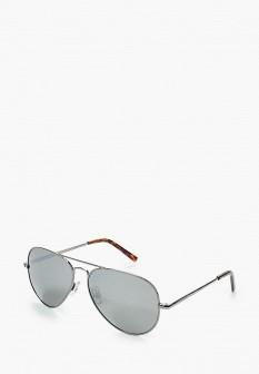 Мужские итальянские осенние серебряные солнцезащитные очки