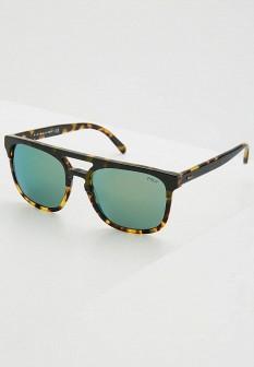 Мужские коричневые осенние солнцезащитные очки
