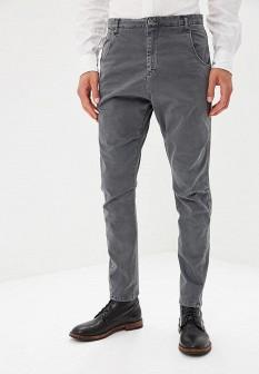 Мужские серые итальянские осенние брюки