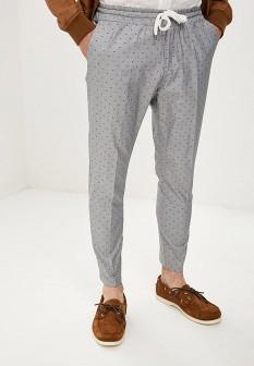 Мужские серые итальянские брюки