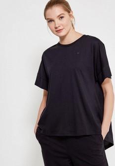 Женская черная футболка Puma