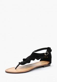 Женские черные сандалии Queen Vivi