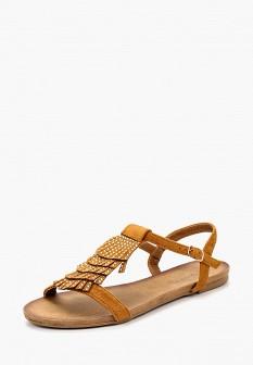Женские коричневые сандалии Queen Vivi