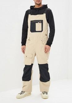 Мужские бежевые осенние брюки