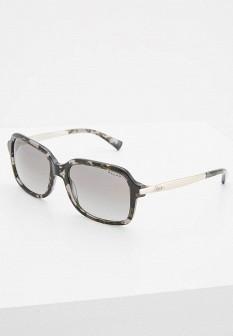 Женские серые итальянские осенние солнцезащитные очки