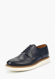 Мужские синие кожаные туфли Ralf Ringer