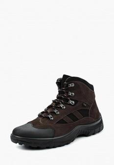 Мужские осенние кожаные трекинговые ботинки из нубука