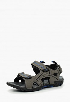 Мужские серые сандалии из нубука