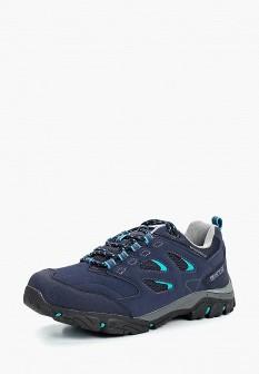 Женские синие осенние трекинговые ботинки