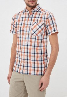 Мужская оранжевая рубашка